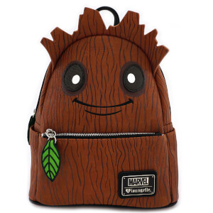 Marvel Loungefly Guardianes de la Galaxia Mini Mochila Groot