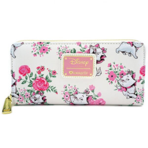 Loungefly Disney Marie Floral AOP Wallet