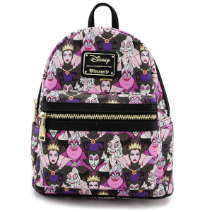 Loungefly Disney Villains AOP Mini Backpack