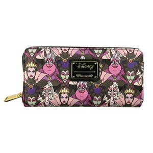 Loungefly Disney Villains AOP Wallet