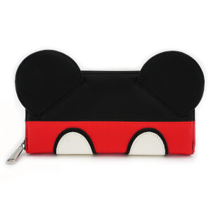 Loungefly Disney Mickey Mouse Suit Zip Around Wallet