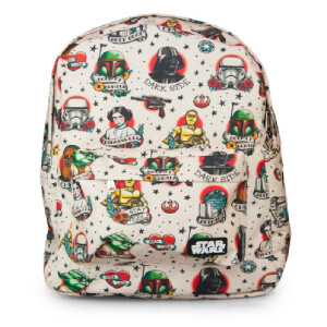 Mochilla Estampada - Loungefly Star Wars - Tattoo Flash Print