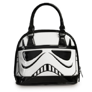 Loungefly Star Wars - Borsa a Cupola lucida Stormtrooper