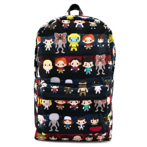 Loungefly Stranger Things Baby Characters AOP Print Backpack Bag