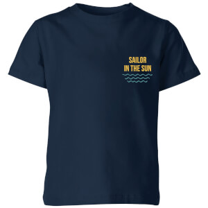 My Little Rascal Sailor In The Sun Kids' T-Shirt - Navy