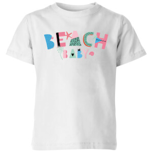 My Little Rascal Beach Baby Kids' T-Shirt - White
