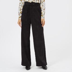 Gestuz Women's Roy Cord Pants - Black