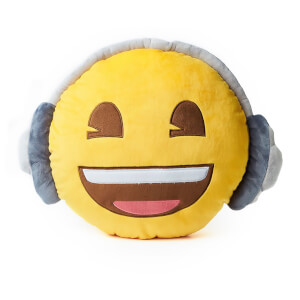 Emoji Cushion - Headphones