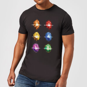 T-Shirt Homme Pierres de l'Infini Avengers - Noir
