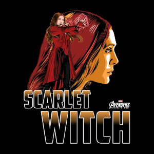 Avengers Scarlet Witch Dames T-shirt - Zwart