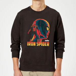 Sweat Homme Iron Spider Avengers - Noir