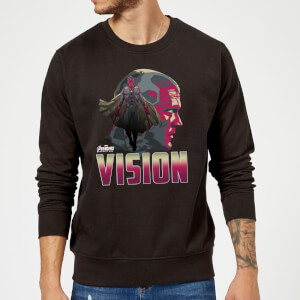 Avengers Vision Sweatshirt - Black