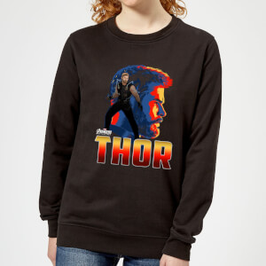 Avengers Thor Women's Sweatshirt - Black