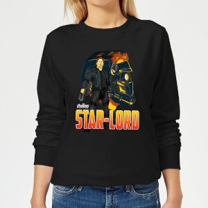 Avengers Star-Lord Women's Sweatshirt - Black