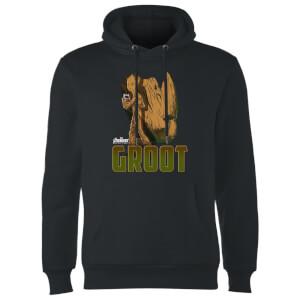 Avengers Groot Hoodie - Black