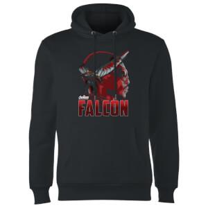 Avengers Falcon Hoodie - Black