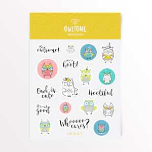 Owlsome Sticker Pack