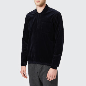 Oliver Spencer Men's Yarmouth Cord Shirt - Navy