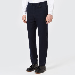 Oliver Spencer Men's Fishtail Trousers - Dexter Midnight