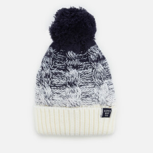 Superdry Women's Clarrie Cable Beanie - Denim Ombre