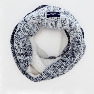 Superdry Women's Clarrie Cable Snood - Denim Ombre