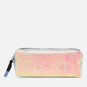 Superdry Women's Super Foil Pencil Case - Iridescent Cross
