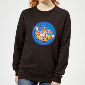Bullseye Ring Logo Women's Sweatshirt - Black