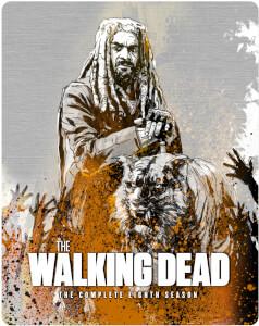The Walking Dead Season 8 Blu-Ray - Zavvi UK Exclusive Steelbook