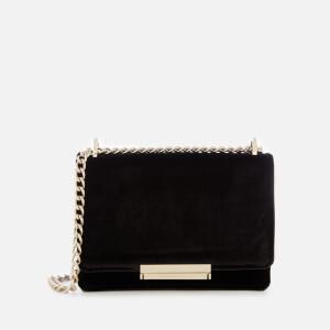 Kate Spade New York Women's Cameron Street Velvet Hazel Bag - Black