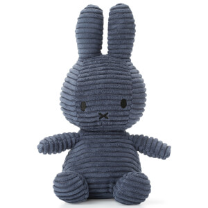 Miffy Sitting Corduroy - Blue