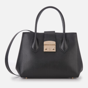 Furla Women's Metropolis Small Tote Bag - Onyx
