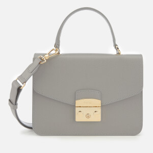 Furla Women's Metropolis Small Top Handle Bag - Grey