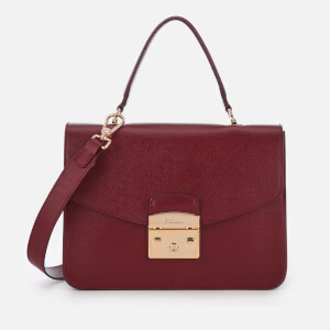 Furla Women's Metropolis Small Top Handle Bag - Cherry