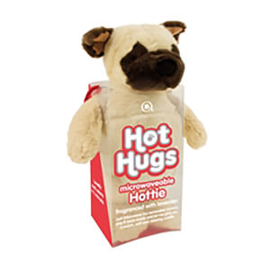 Pug Hot Hugs Hottie