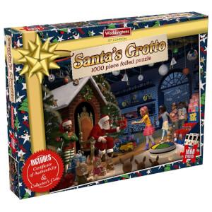 Waddingtons 1000 Piece Santa's Grotto Christmas Puzzle