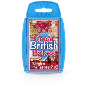 Top Trumps Card Game - British Bakes Edition