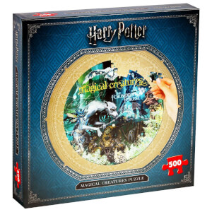 500 Piece Jigsaw Puzzle - Harry Potter Magical Creatures Edition