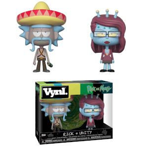 Figurines Vynl. Rick avec Sombrero & Unity - Rick et Morty