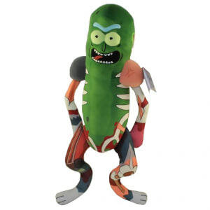 Peluche 18 pouces Galactic Plushie - Rick & Morty - Rick En Costume De Rat