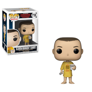 Figurine Pop! Eleven avec T-Shirt Burger - Stranger Things