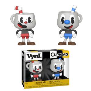 Figura Funko Vynl. - Cuphead & Mugman - Cuphead