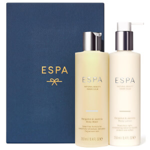 ESPA Bergamot and Jasmine Shower & Hydrate Set (Worth $59)