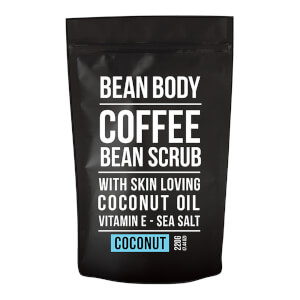 Bean Body Coffee Bean Scrub 220g - Coconut