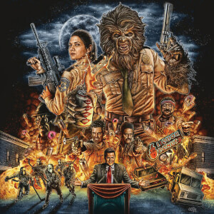 Another Wolfcop (Original Soundtrack Recording) - Limited Edition Black Vinyl LP (250 Copies Worldwide)