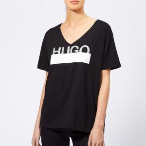 HUGO Women's Naria Logo T-Shirt - Black