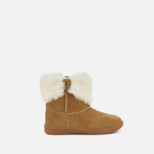 UGG Toddler's Ramona Suede Boots - Chestnut