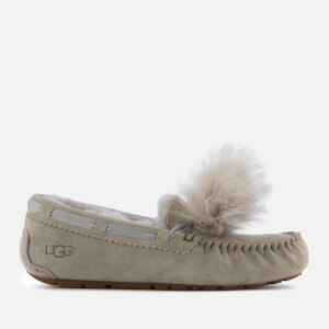UGG Women's Dakota Moccasin Suede Slippers - Seal