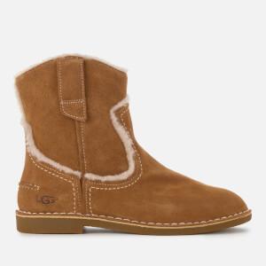 UGG Women's Catica Suede Flat Boots - Chestnut