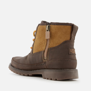 UGG Kid's Bradley Water Resistant Lace-Up Boots - Stout: Image 2