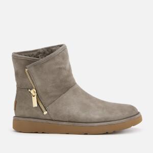 UGG Women's Kip Side Zip Suede Boots - Slate